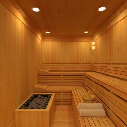 sauna pra loup hotel pra loup